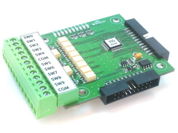 10채널 접점 입력모듈(DIM)