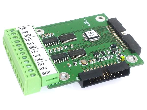 4채널 RS232 멀티포트(MSB)
