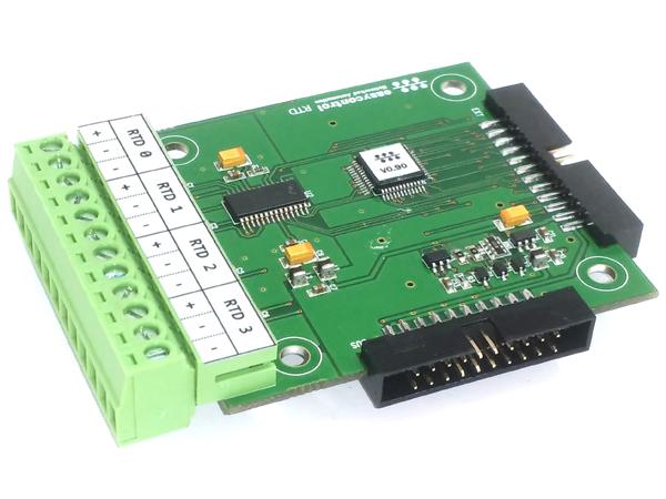 4채널 RTD/측온저항 온도 측정모듈(RTD)